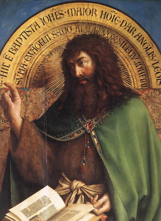 St John the Baptist, Ghent Altarpiece
