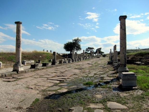 sacred way to the Ascelpium, Pergamon
