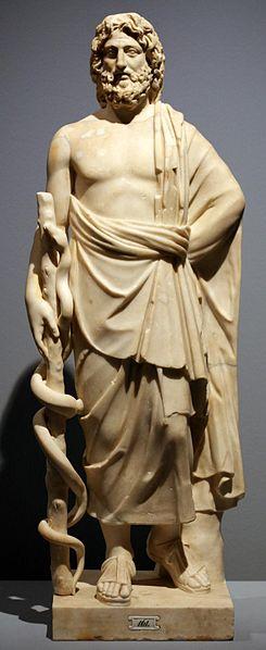 Asclepius, Pergamon Museum