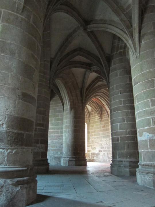 crypt, Mont Saint Michel