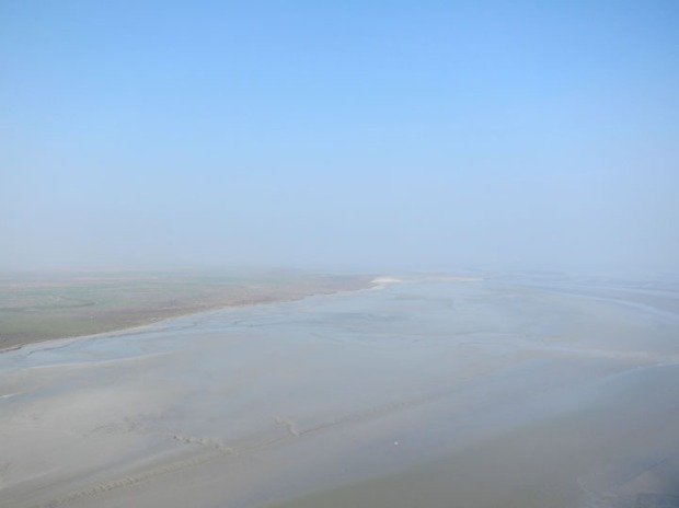horizon, Mont Saint-Michel