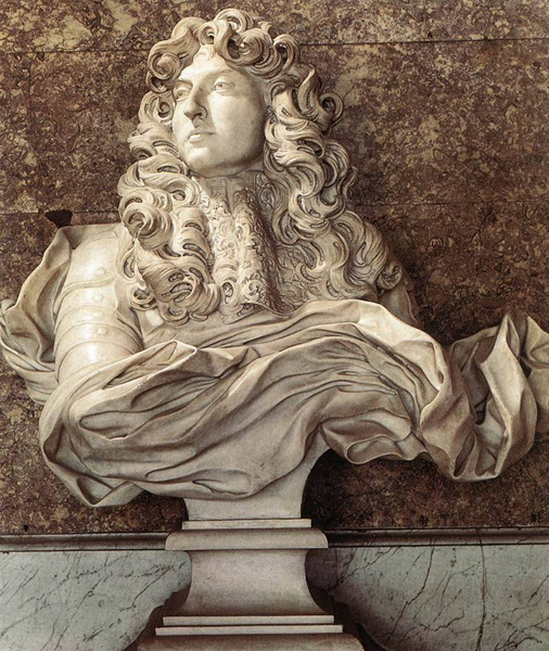Bernini, Bust of Louis XIV