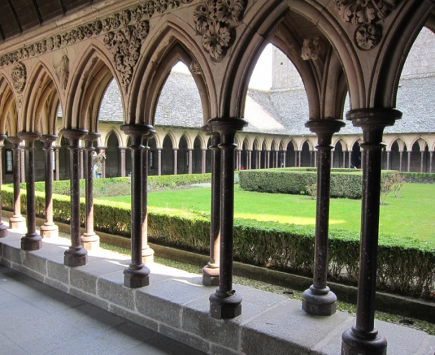 monastery, Mont Saint Michel