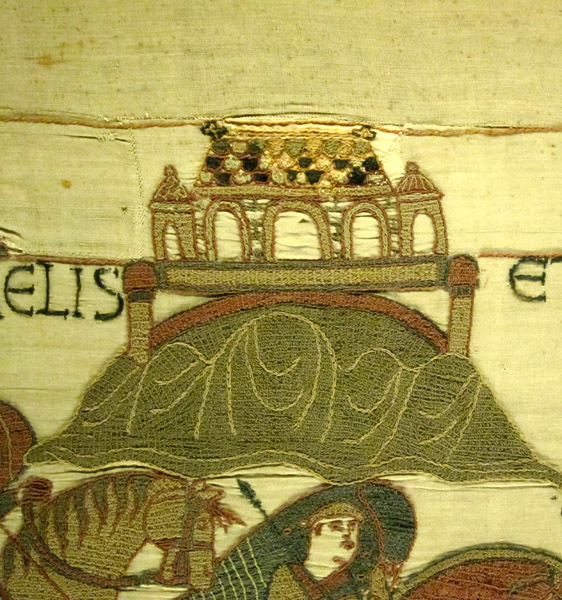 Mont Saint-Michel in the Bayeux Tapestry