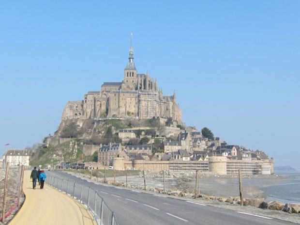 Mont Saint-Michel sunshine