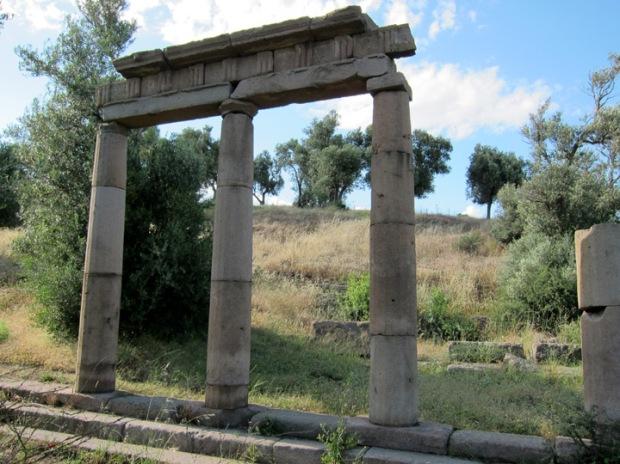 western Stoa, Ascelepius, Pergamon