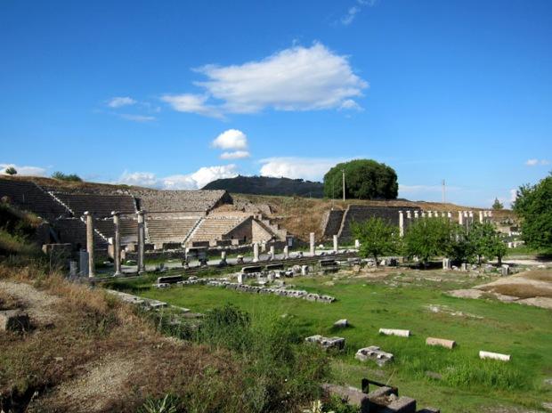 theater, Ascelpium, Pergamon