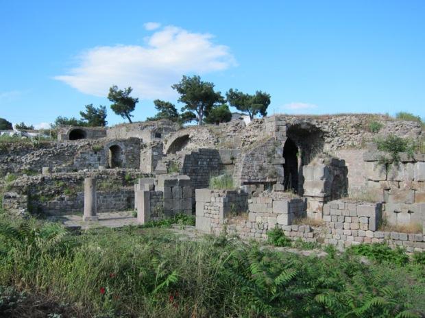 treatment rooms, Ascelpium, Pergamon
