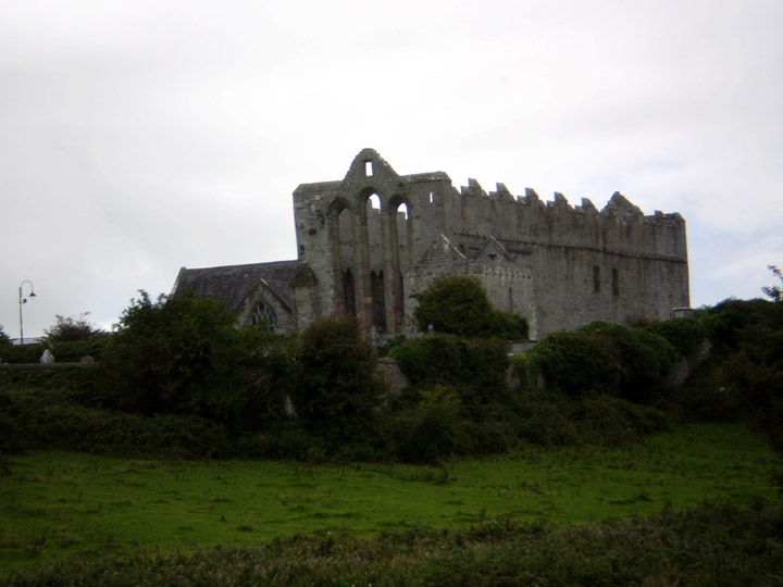 Ardfert Cathedral Ireland Coming up on Ardfert Cathedral