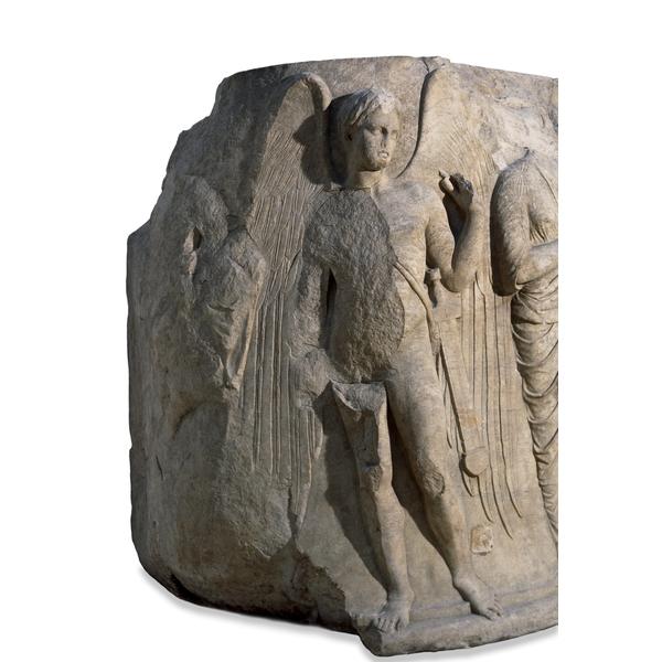 Temple of Artemis, Ephesus marble column drum