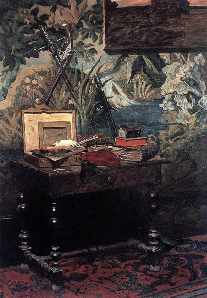 Claude Monet - Corner of the Studio