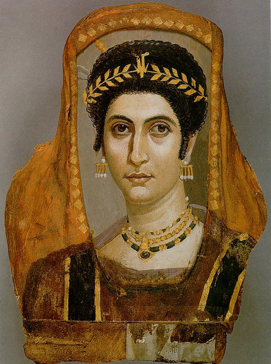jewelry Fayum mummy Getty