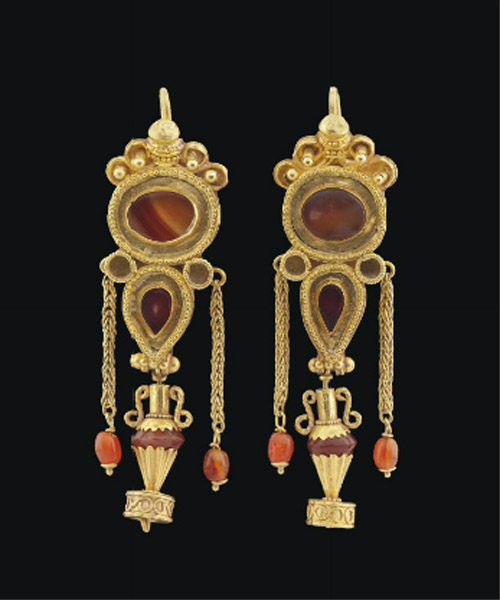 hellenic earrings