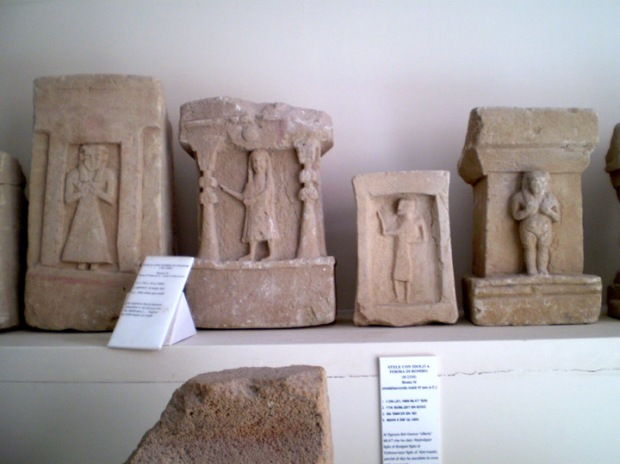 Phoenician funerary markers