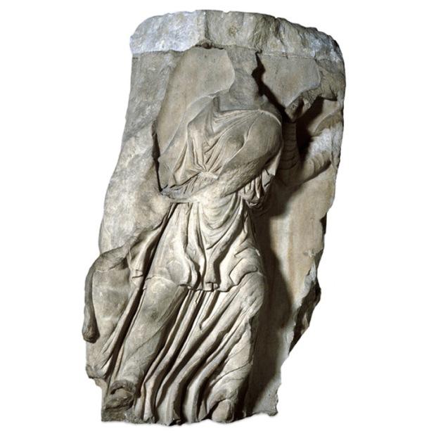 artemis Amazon plinth sculpture
