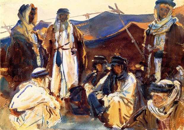 John Singer Sargent - Bedouin Camp