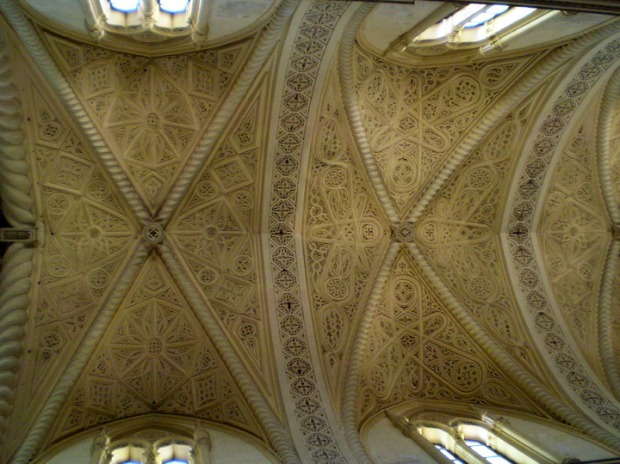 Norman style ceiling, Erice, Italy
