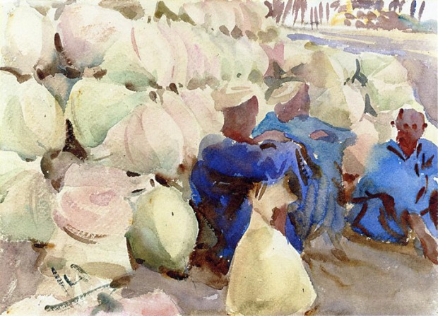 John Singer Sargent - Egyptian Water Jars