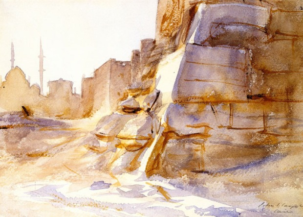 John Singer Sargent - Cairo