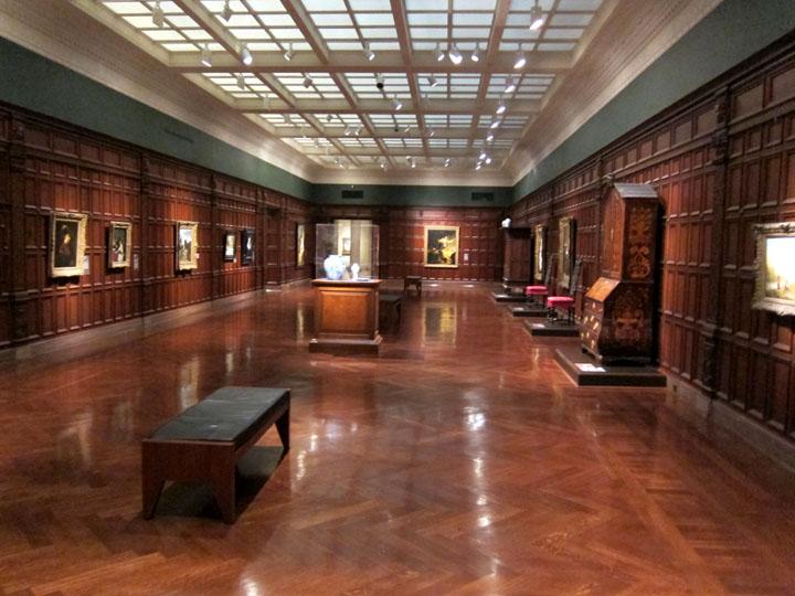 dutch art gallery