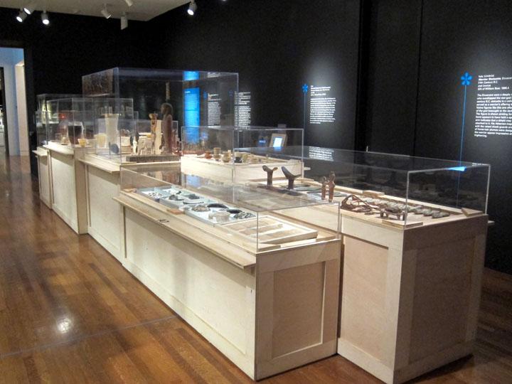 Egyptian open storage, Cincinnati Art Museum