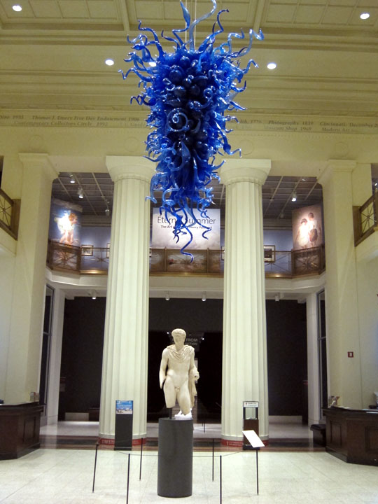 Cincinnati Art Museum entrance