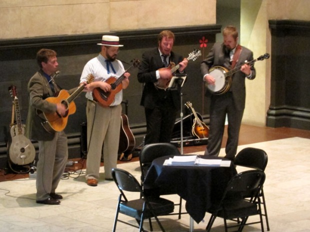 The Goodle Boys, live music at Cincinnati art museum