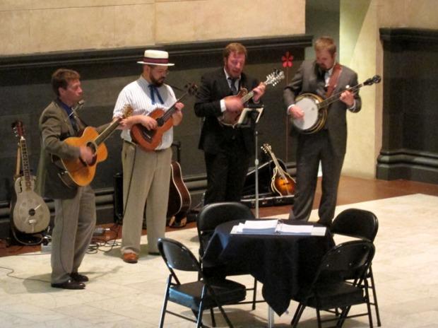 The Goodle Boys, live music at Cincinnati art museum