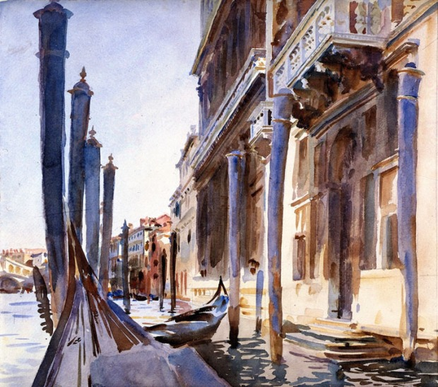John Singer Sargent - Grand Canal, Venice