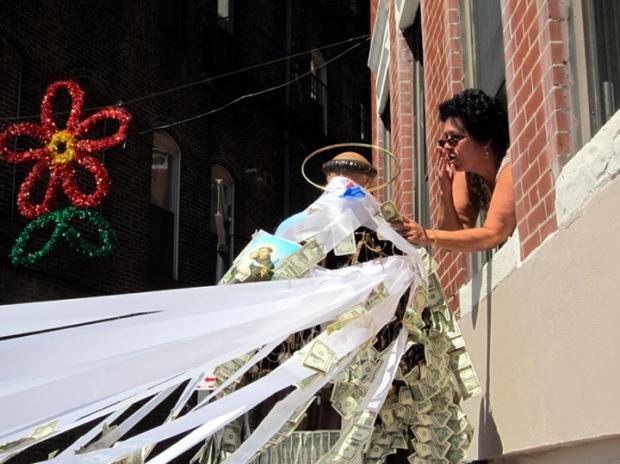 St. Anthony makes house calls, St. Anthony Festival, North End, Boston