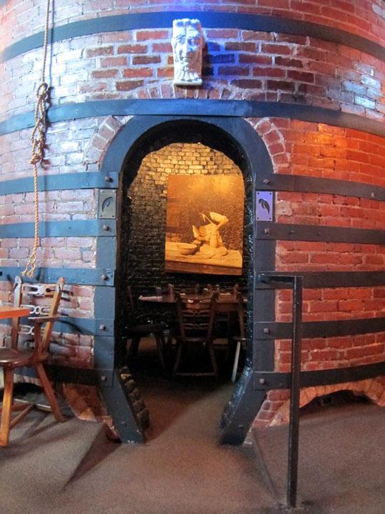 kiln dining room