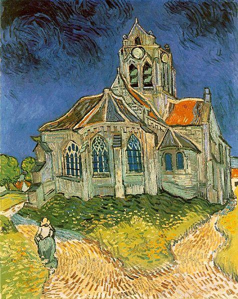 Vincent van Gogh - The Church at Auvers-sur-Oise