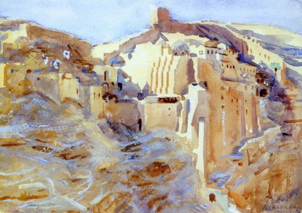 John Singer Sargent - Mar Saba