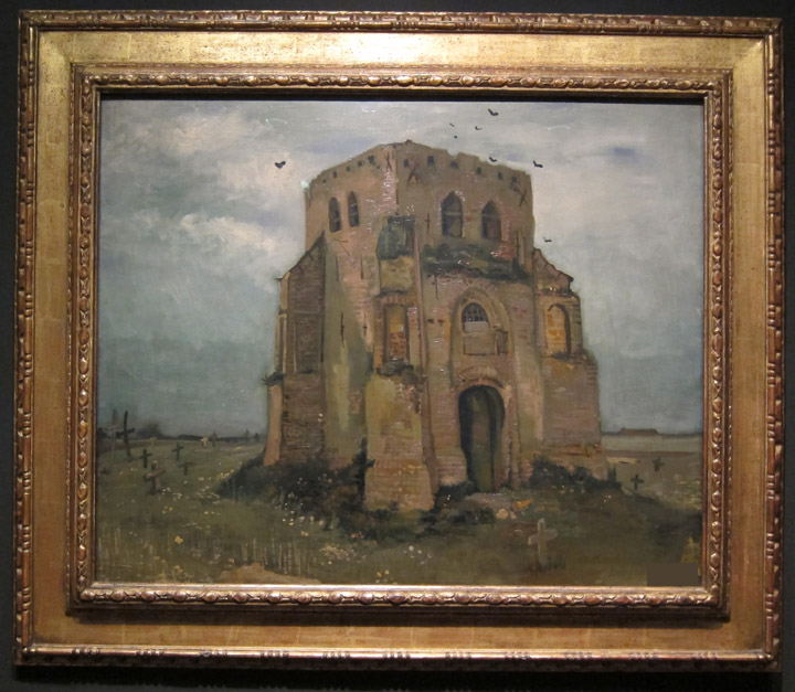 old church painting