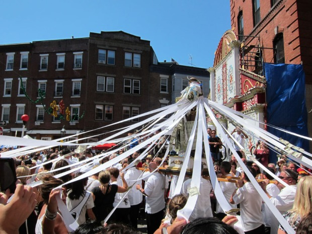 Procession of St Anthony, St. Anthony Festival, North End, Boston