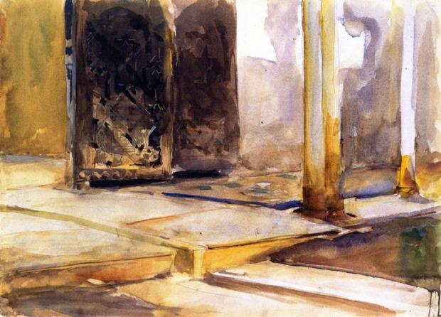 John Singer Sargent - Alhambra, Patio de los Leones