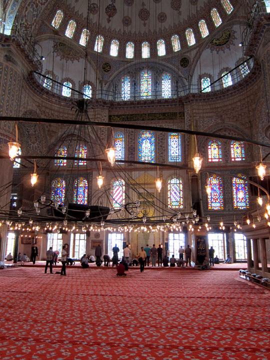 Blue mosque, Istanbul prayers