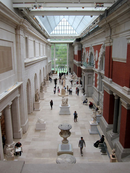 Metropolitan Museum of Art sculpture hall