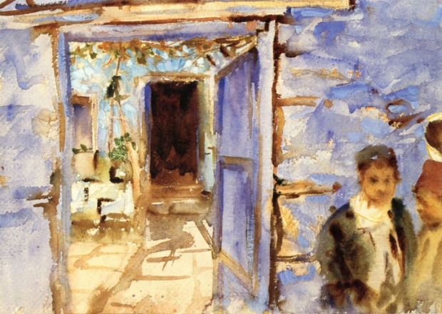 John Singer Sargent - Spanish Courtyard