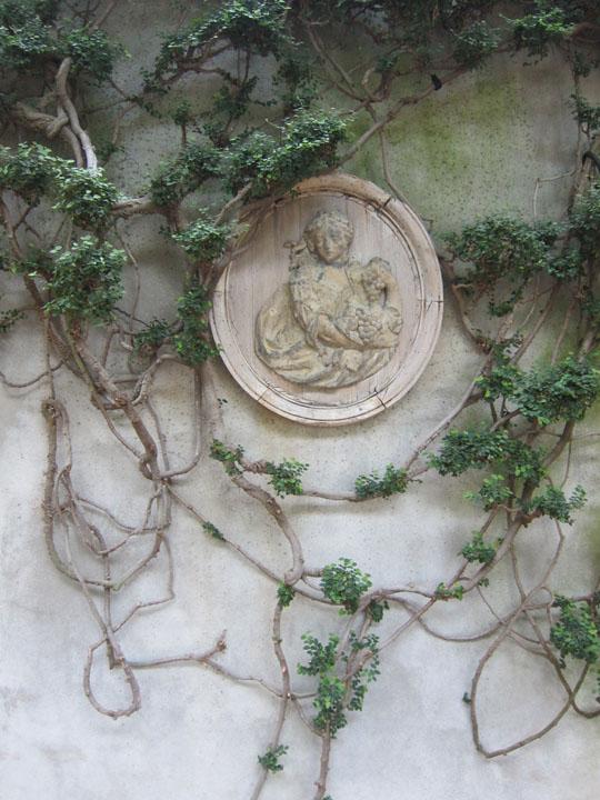 garden metallion