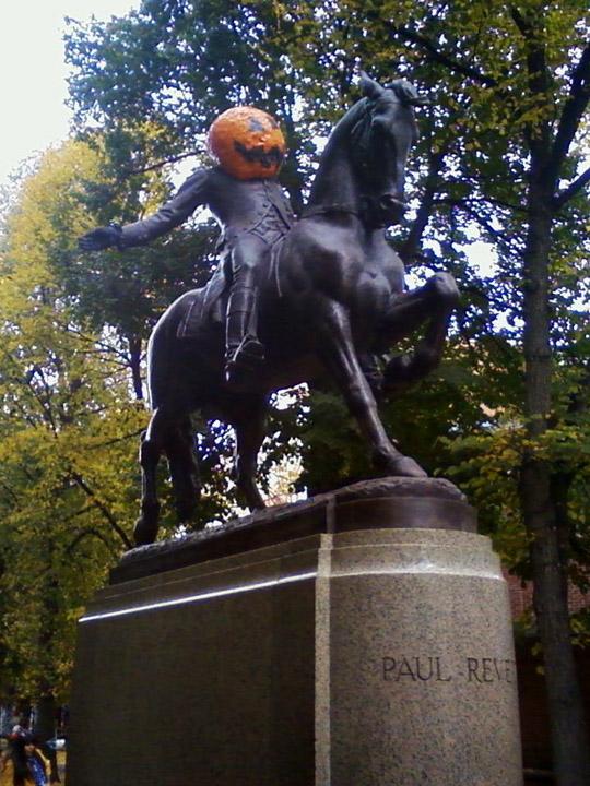 Halloween Paul Revere