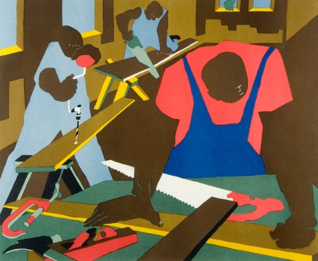 Jacob Lawrence Carpenters