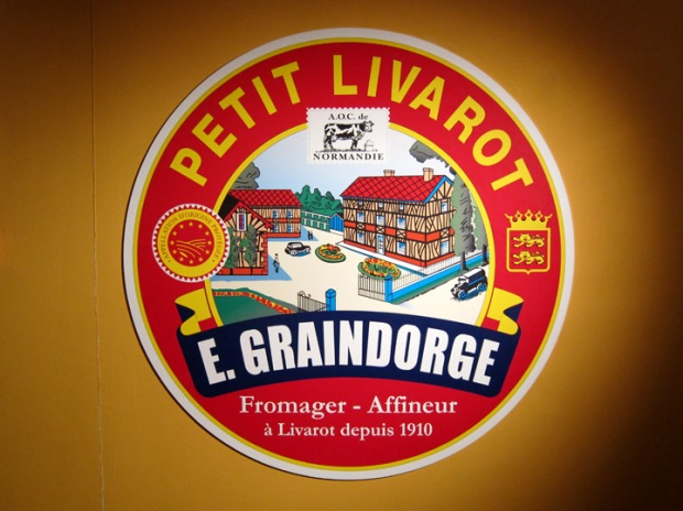 E. Graindorge Livarot sign
