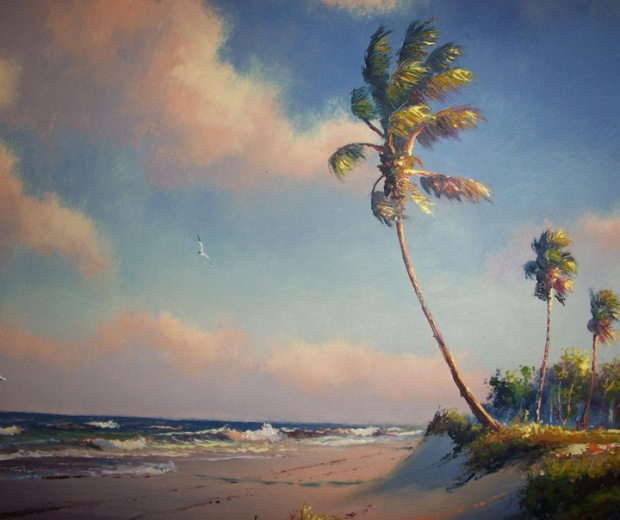"""Afternoon Seabreeze"" by Harold Newton"