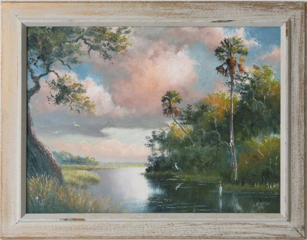"Sam Newton - ""Wetland Scene"""