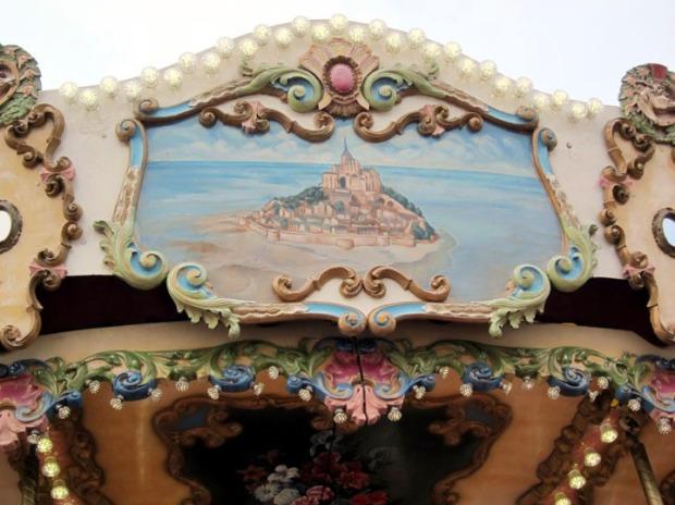 carousel Mont Saint-Michel