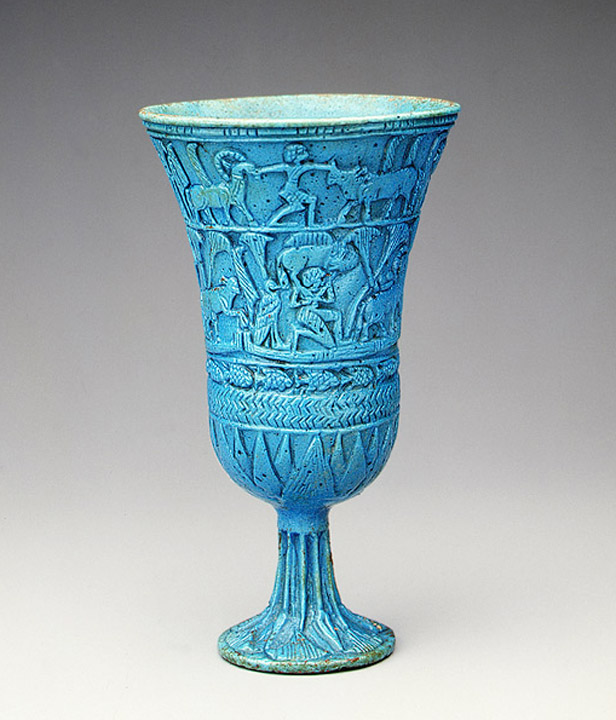 Egyptian Lotiform Cup