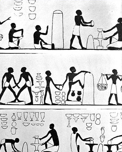 Egyptian potters
