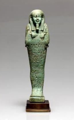 blue-green ancient egyptian ushapti