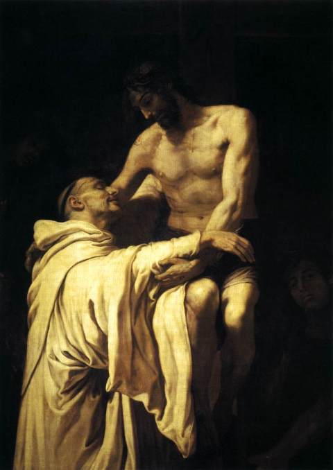"Francisco Ribalta - ""Christ Embracing St Bernard"""